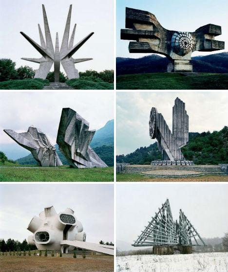 6 Забутих пам'ятників в Югославії