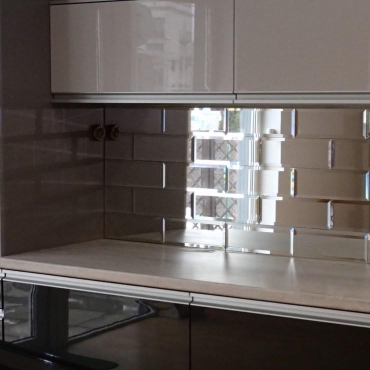 Metro tegels in de keuken