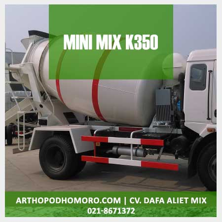 Minimix Beton Mutu K350