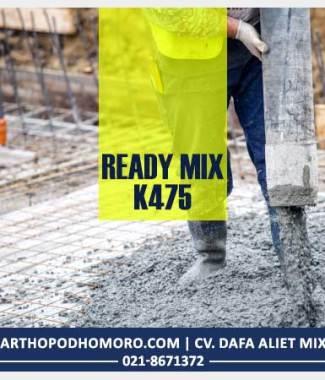 Harga Ready Mix K475