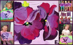 Artist Georgia O'Keeffe Inspired