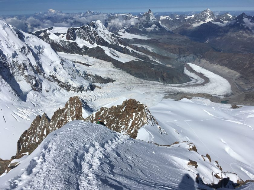 Summit Mont Blanc; Matterhorn, Spaghetti Tour, Dufourspitze