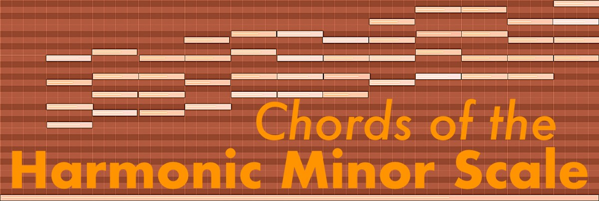 Chords of the Harmonic Minor Scale