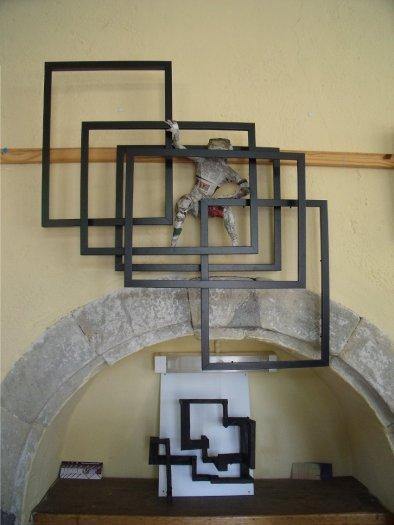 sculptures de cadres
