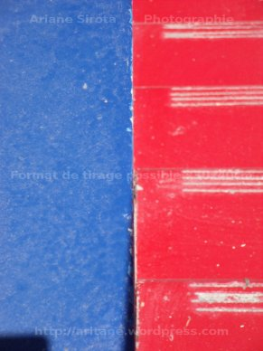 Bleu et rouge