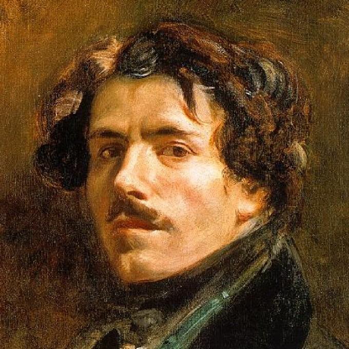 Ο Γάλλος ζωγράφος Ευγένιος Ντελακρουά