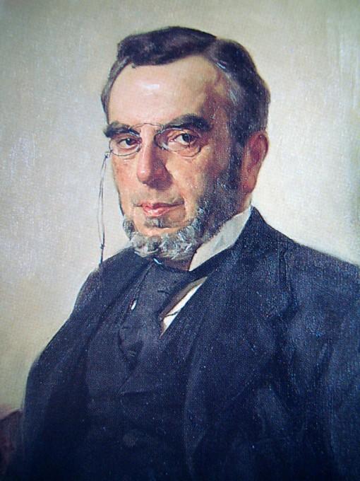 Ο συγγραφέας Δημήτριος Βικέλας