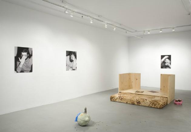 Détail de l'exposition Un futur incertain de Guillaume Adjutor Provost à la Galerie Les Territoires, 2014. Crédits photographiques : Vincent Lafrance