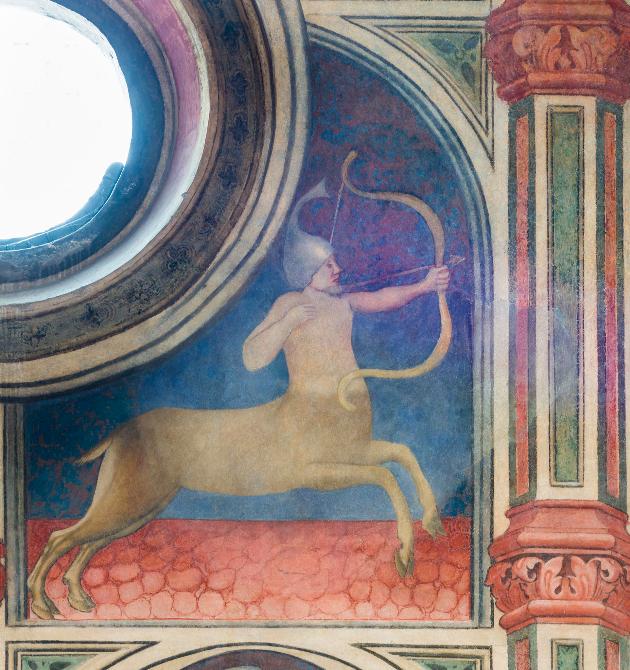 Figure 3. Sagittaire, Salone au Palais de la Raison (Padoue), v. 1420. © Photo : Daniel Garneau