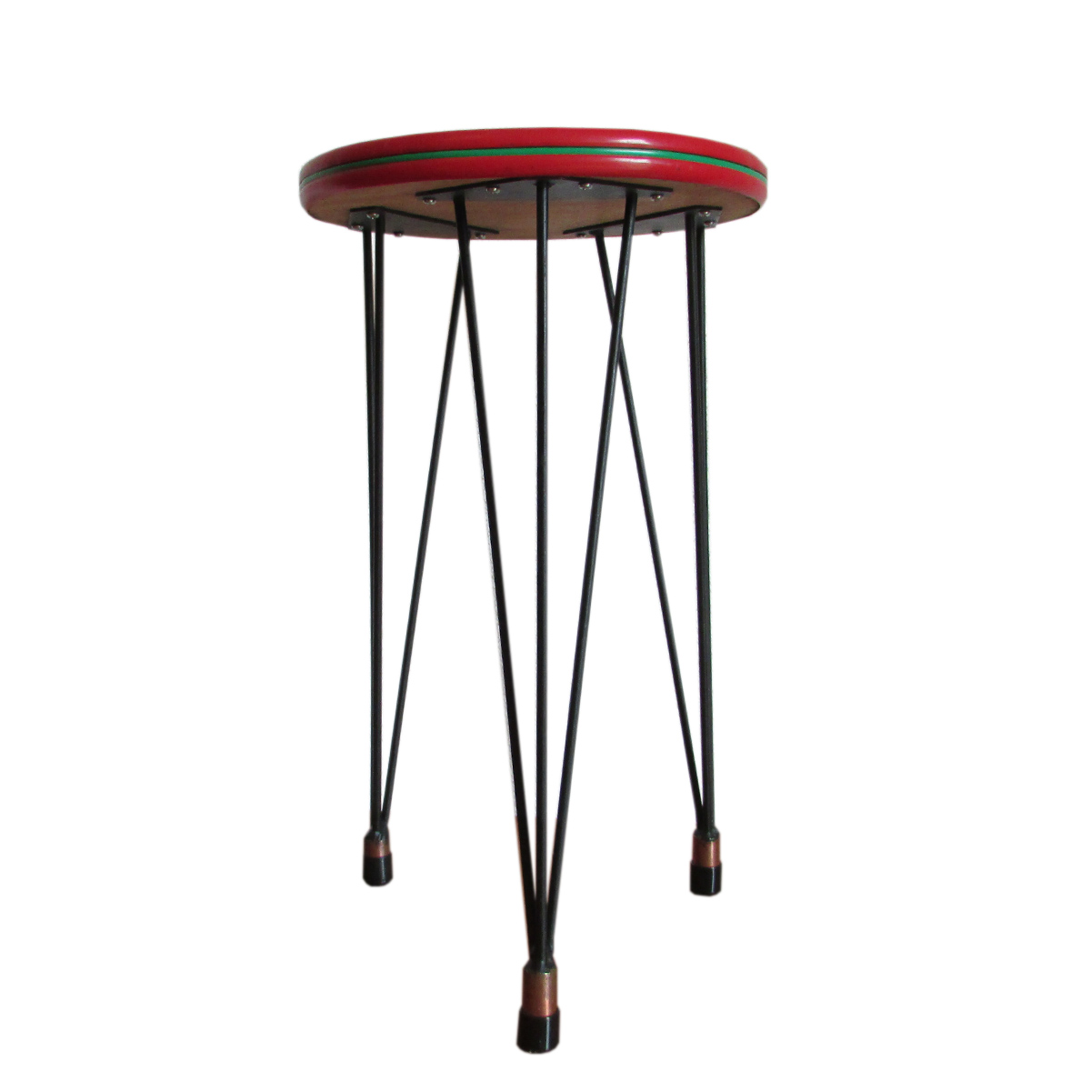 tripod hairpin vintage table