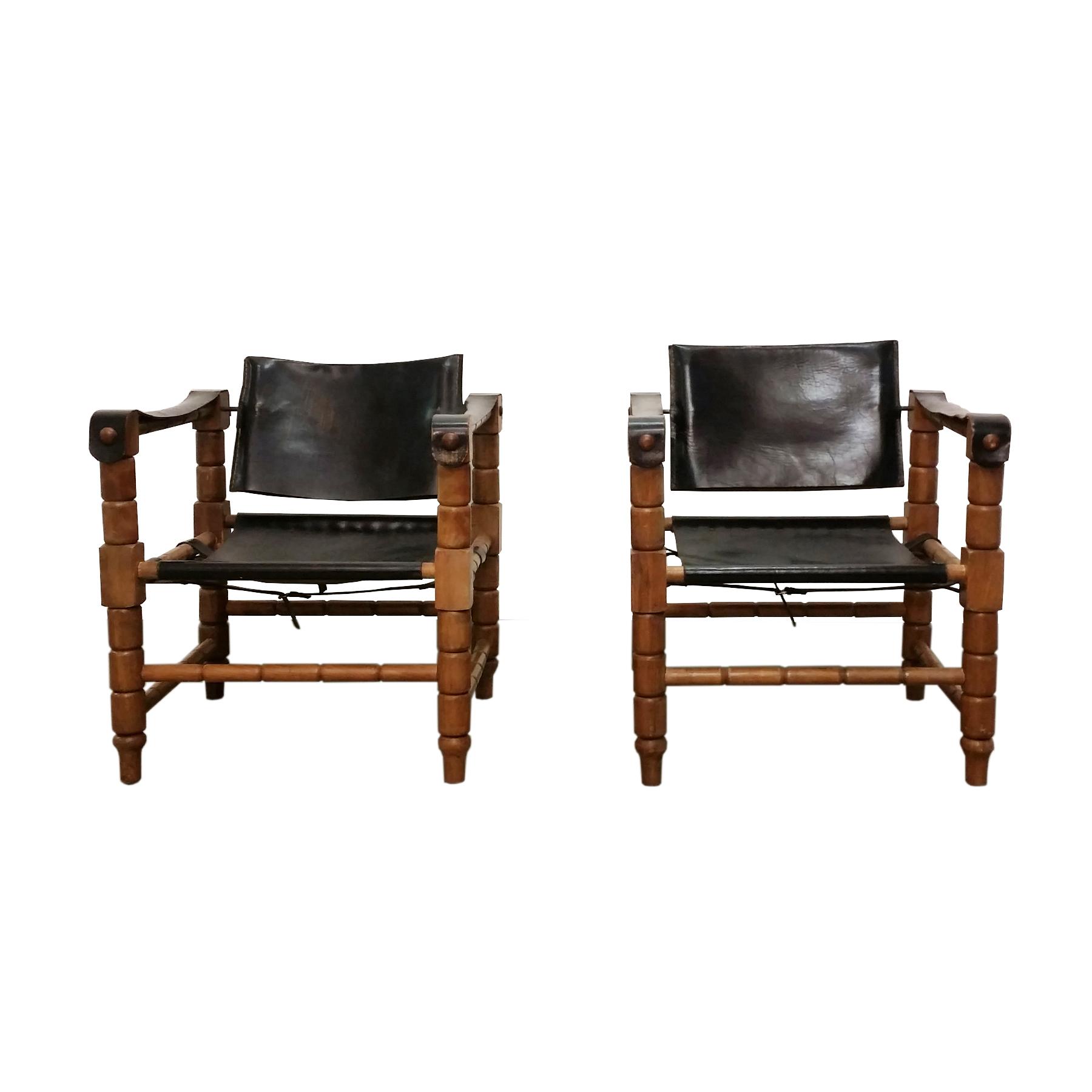 safari brutalist chair