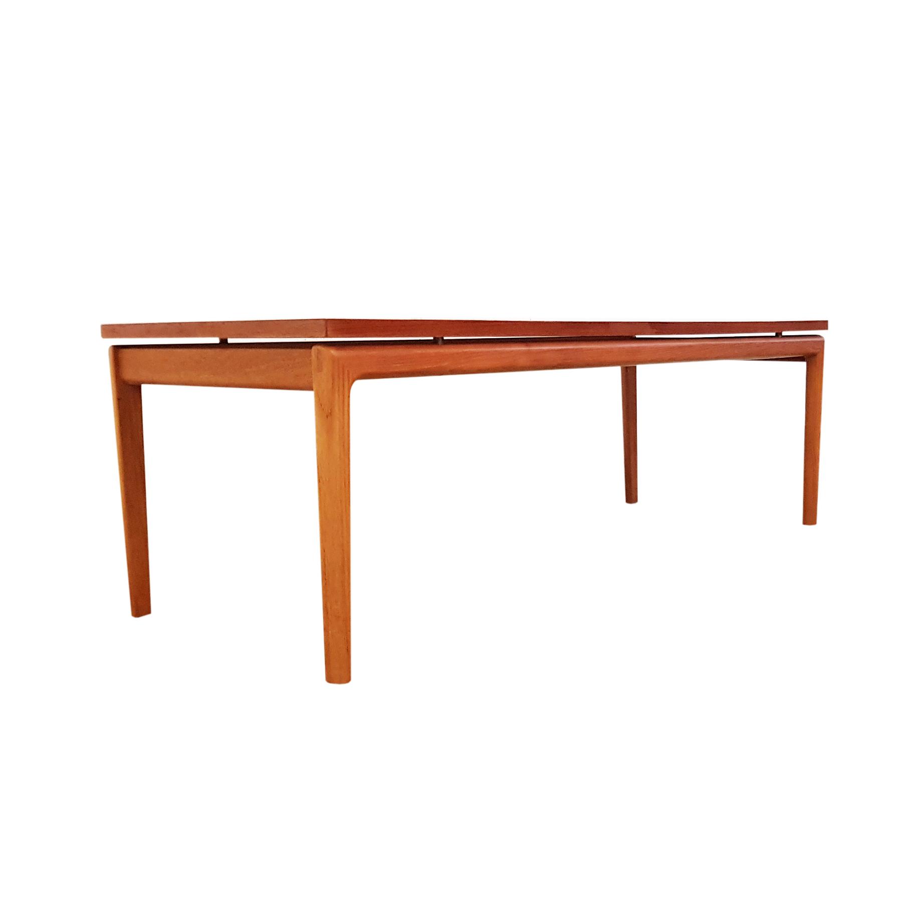 wanscher coffee table teak france & son