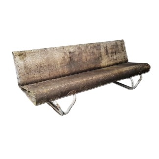 outdoor eternit bench Lasserre