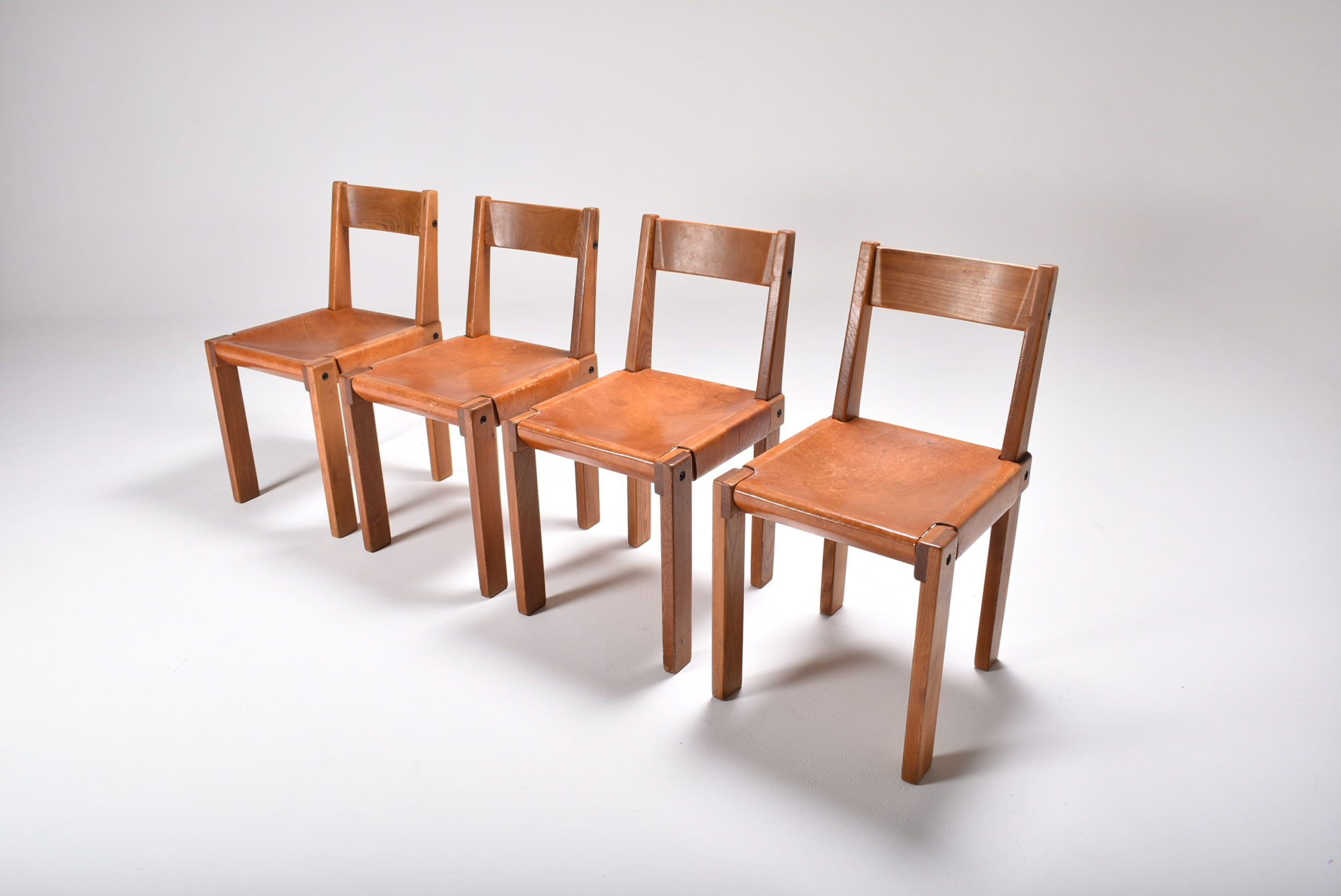 set of four s24 chairs by chapo