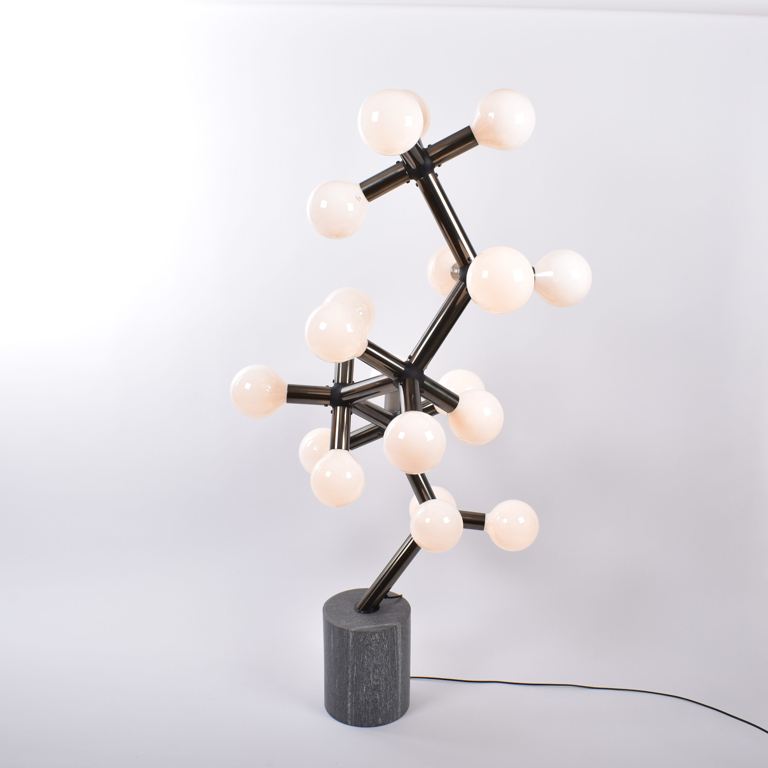 vintage floor lamp by Haussmann for Swisslamps International
