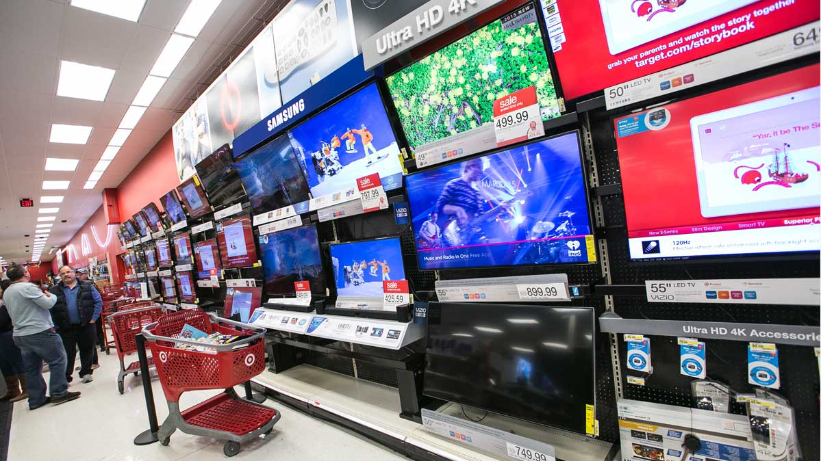 Target S Best Amp Worst Black Friday Tv Deals Consumer Reports