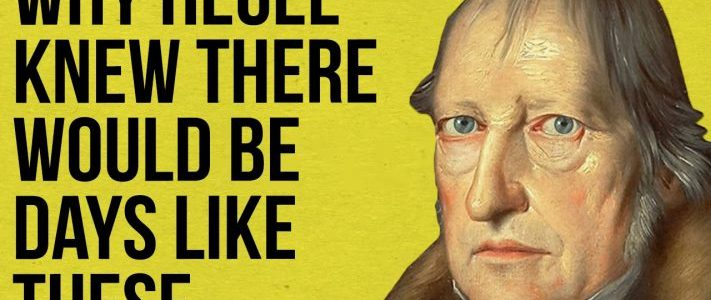 Hegel view on State and civil society