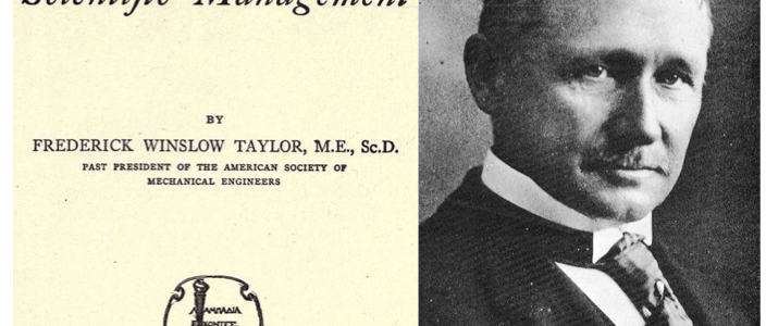 Scientific Management by F.W. Taylor
