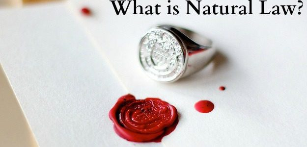 Meaning of natural law