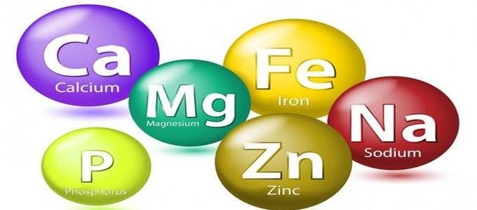 Importance of minerals for healthy life