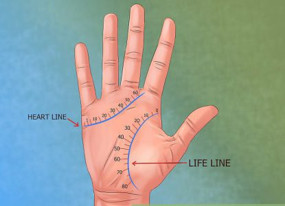 Palmistry - The head line