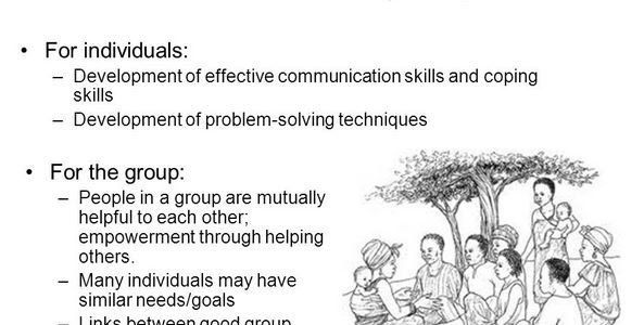 Skills and Techniques of Group Work