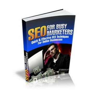SEO For Busy Marketers