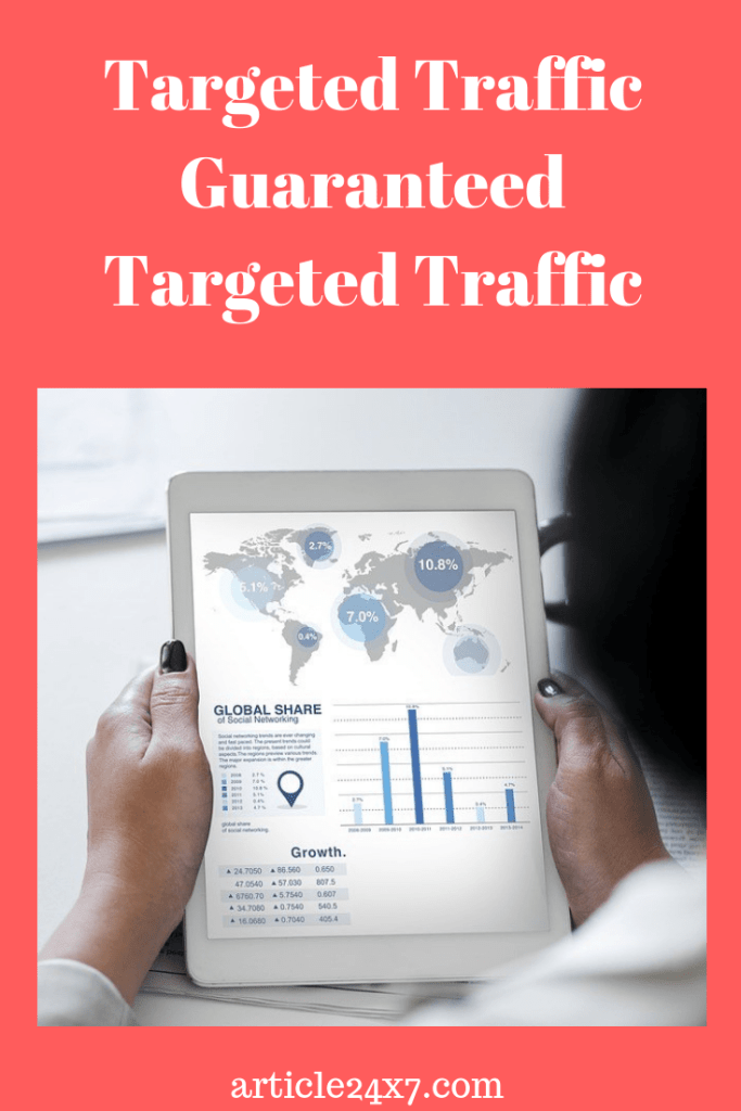 guaranteed targeted traffic
