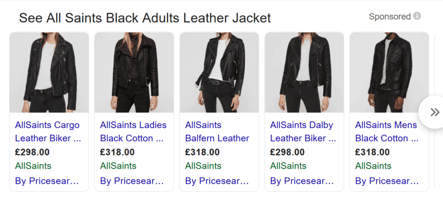 AllSaints Black Jacket