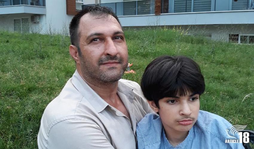 خطر دیپورت بیژن فرخپور حقیقی، نوکیش مسیحی و زندانی سابق عقیدتی ساکن ترکیه
