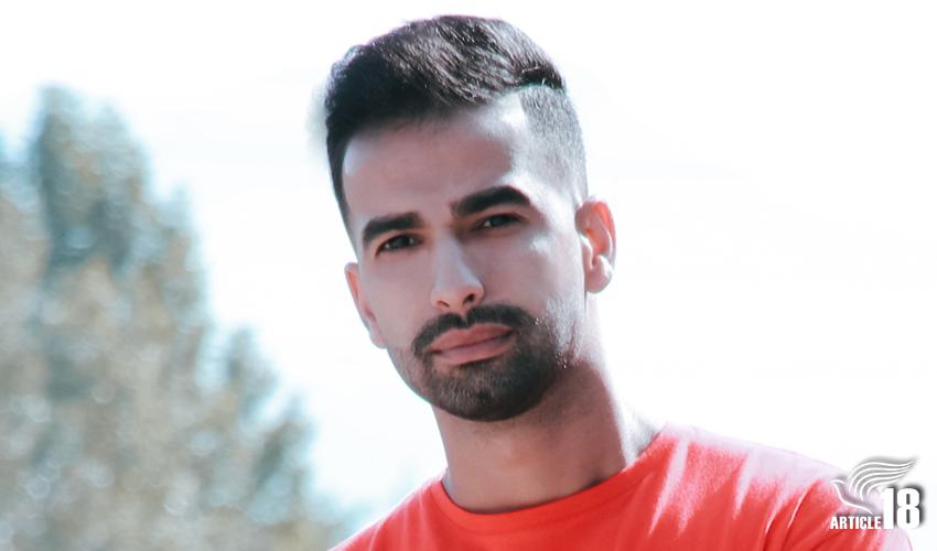 حامد عاشوری،نوکیش مسیحی، برای تحمل ده ماه حبس به زندان رفت