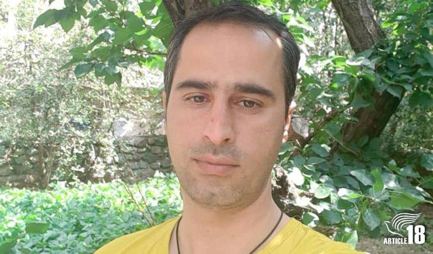 آزادی رضا زعیمی،نوکیش مسیحی، با پابند الکترونیکی