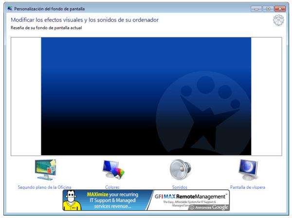 C243mo cambiar el wallpaper de Windows 7 Starter