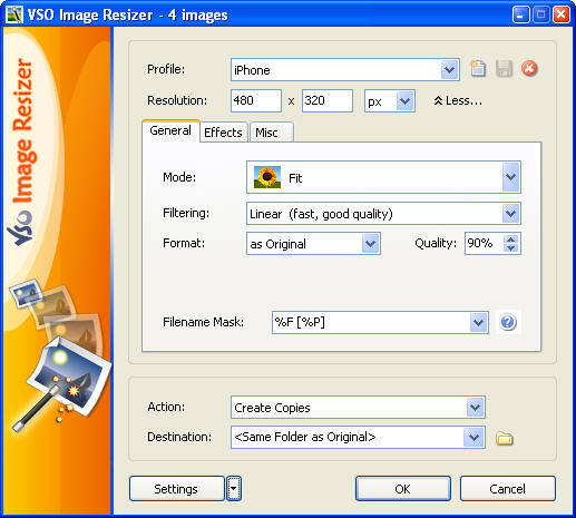 How to: Resize multiple images simultaneously