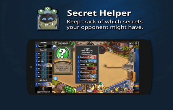 Hearthstone Deck Tracker on Android