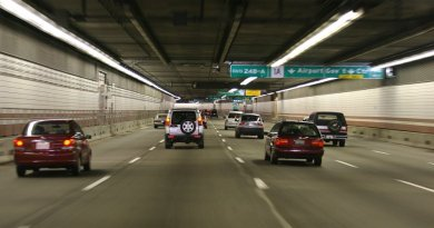 Big Dig road vehicle tunnel (Boston, USA)