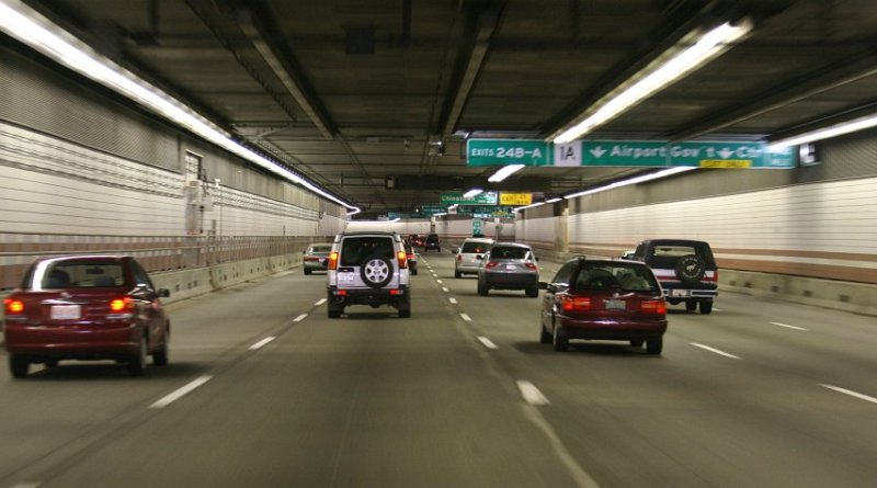 Big Dig road vehicle tunnel (Boston, USA)