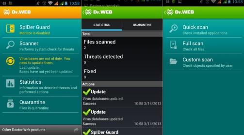 dr.web antivirus free download