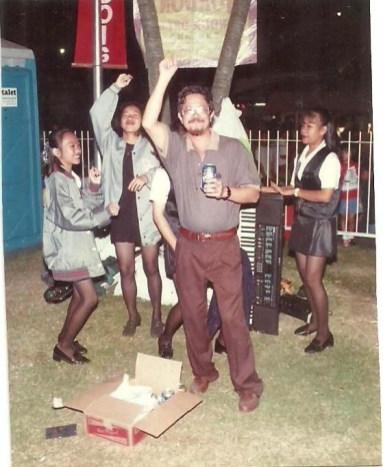 Sir Ike with band members
