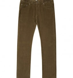 Reiss Brightling Cord Trousers Burnt Umber