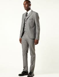 Topman Great Gatsby Three-piece Skinny Suit