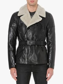 Belstaff New Falmouth Leather Biker Jacket