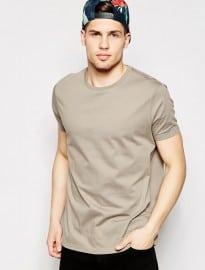 T-shirt Asos à col rond et coupe décontractée