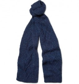 Richard James Hand-knitted Wool Scarf
