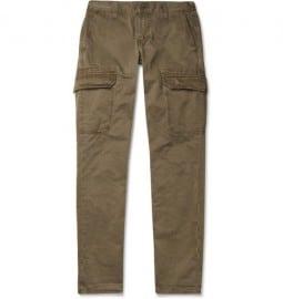J Brand Denim Utility Kane Straight-leg Cargo Trousers