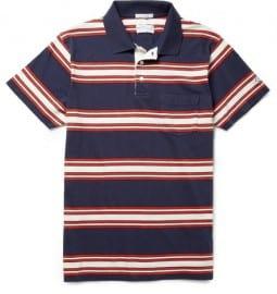 Gant Rugger Striped Cotton Polo Shirt
