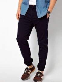 Asos Regular Cuffed Chinos