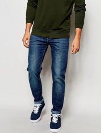 Lee Jeans Arvin Slim Tapered Fit Blue Legacy Mid Wash