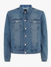 New Look Blue Basic Denim Jacket
