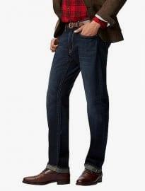 Uniqlo Men Regular Fit Selvedge Jeans
